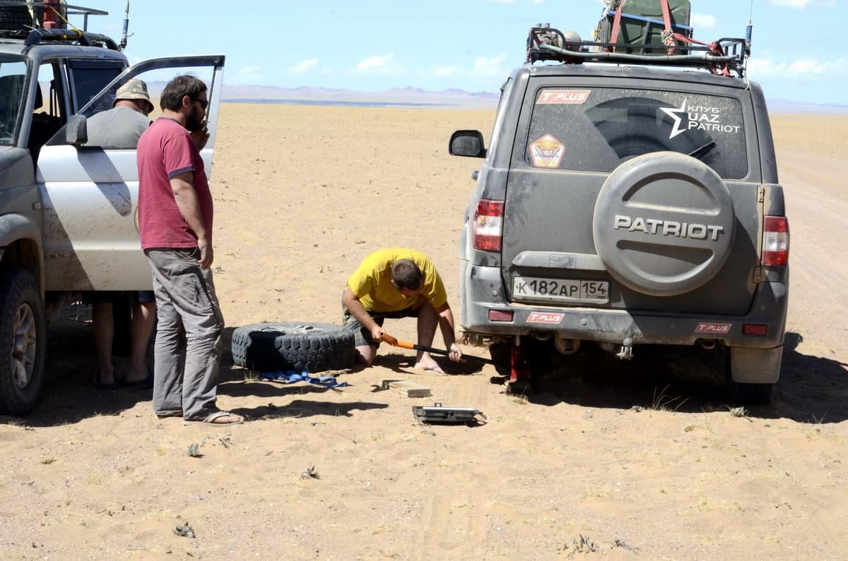 ремонт УАЗ Патриот в Монголии