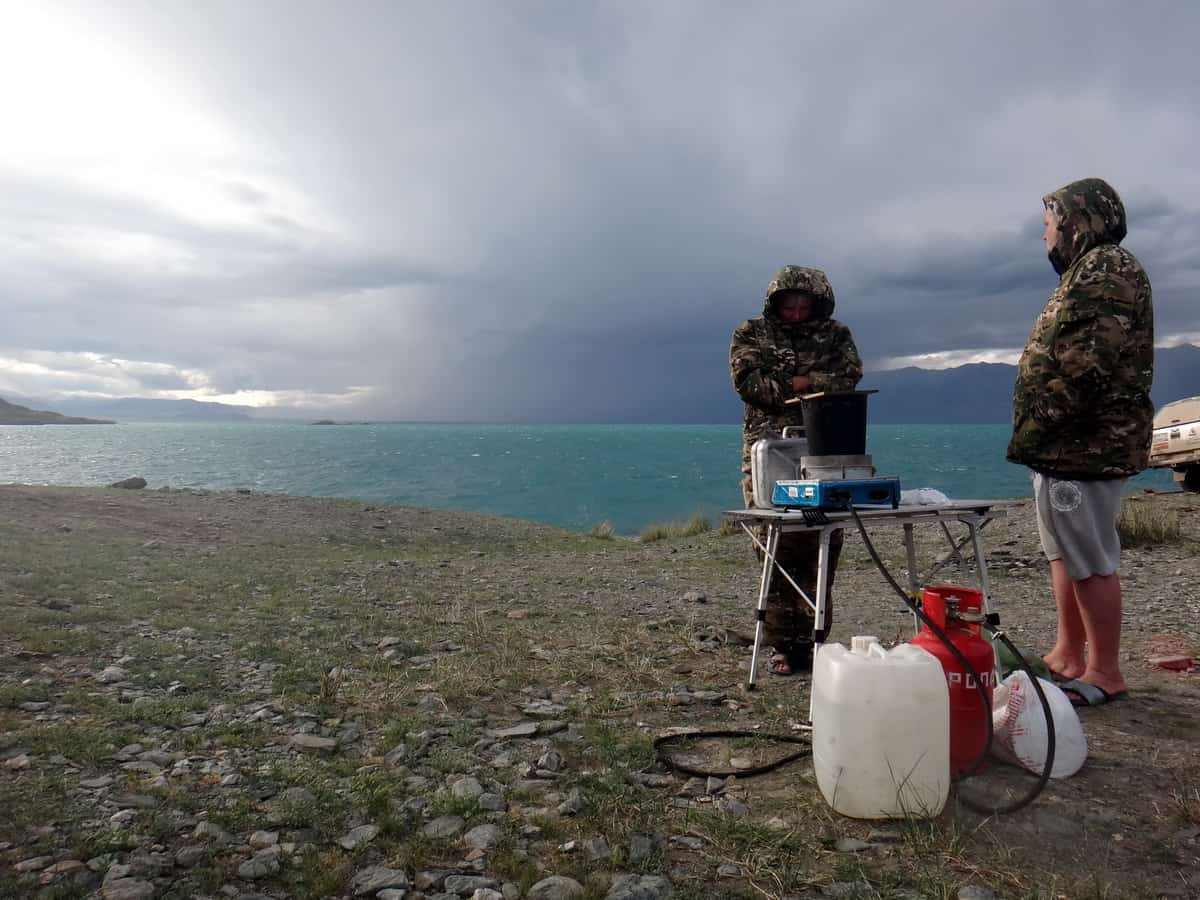 Монголия, озеро Урэг-нуур