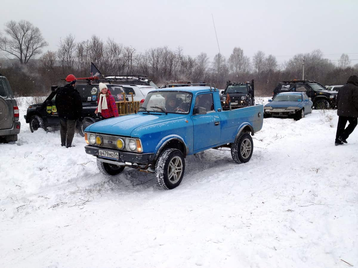 Москвич на базе Subaru 4х4