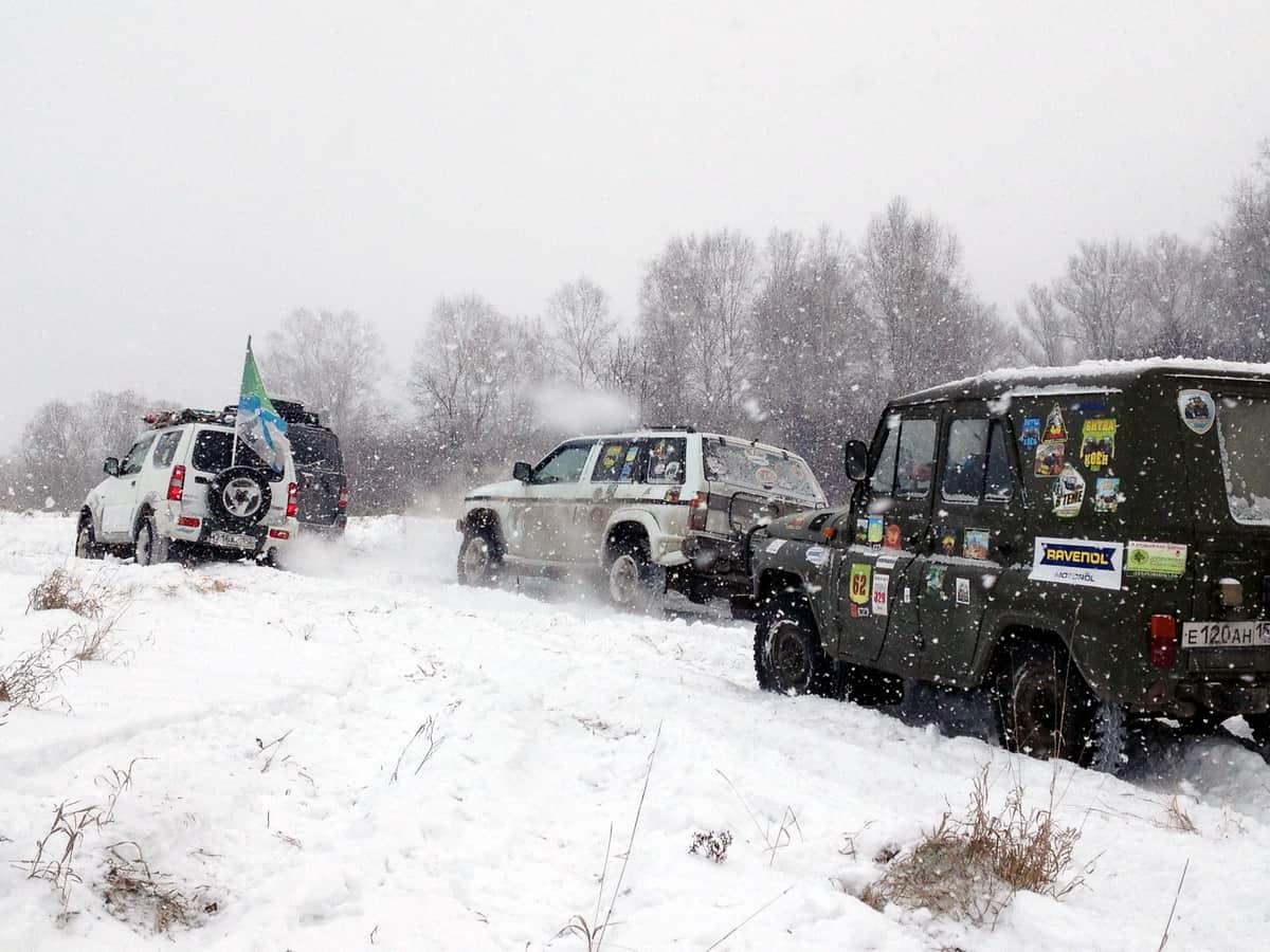 трофи-соревнование по снегу
