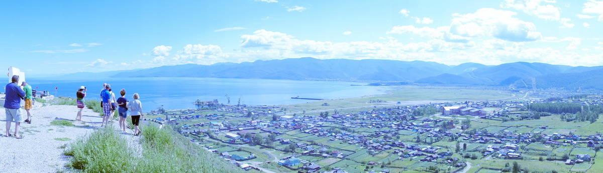 смотровая площадка на Байкал около Слюдянки