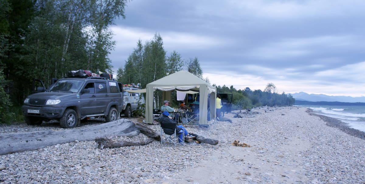 Клуб УАЗ Патриот, озеро Байкал