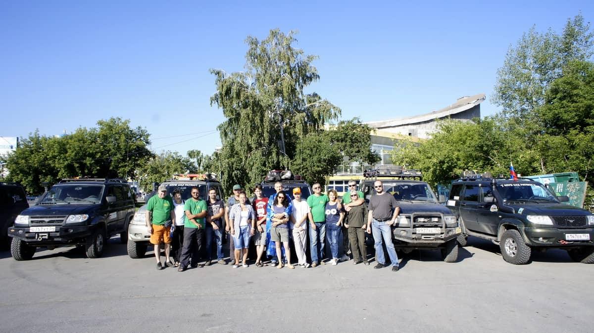 Клуб УАЗ Патриот стартует на Байкал
