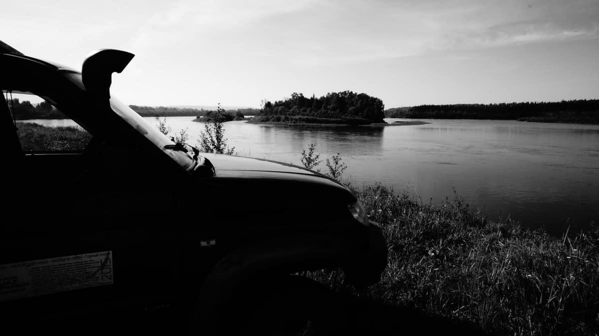 ночёвка по дороге новосибирск - байкал