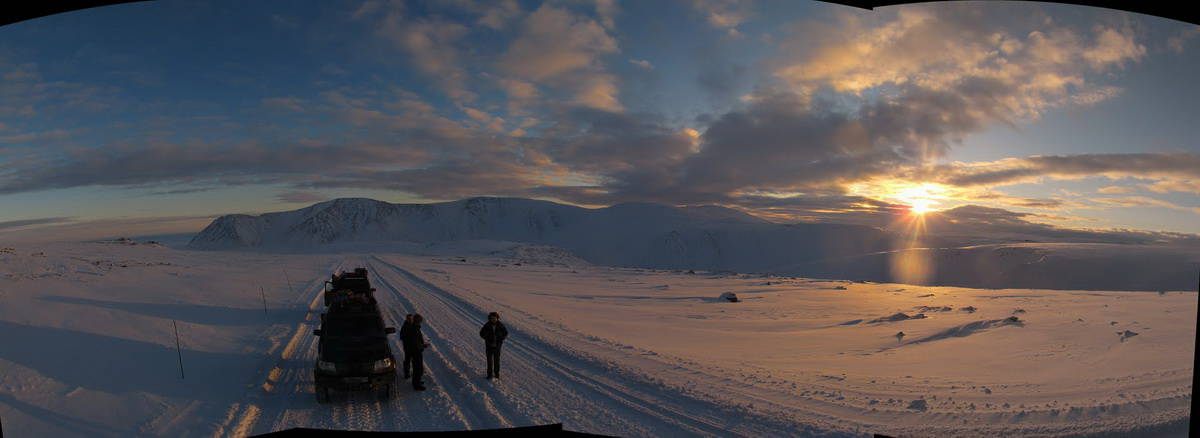 панорама полярного урала