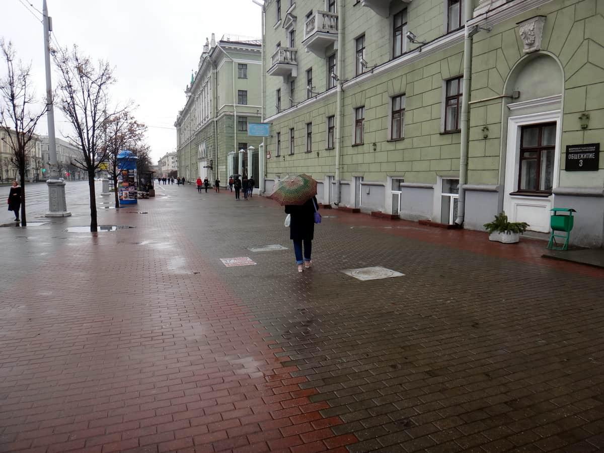 Минск, чистота улиц