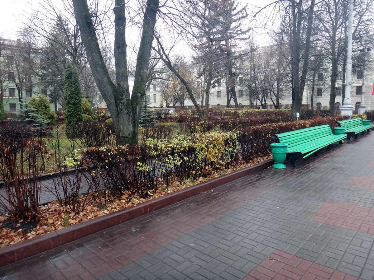 парки Минска