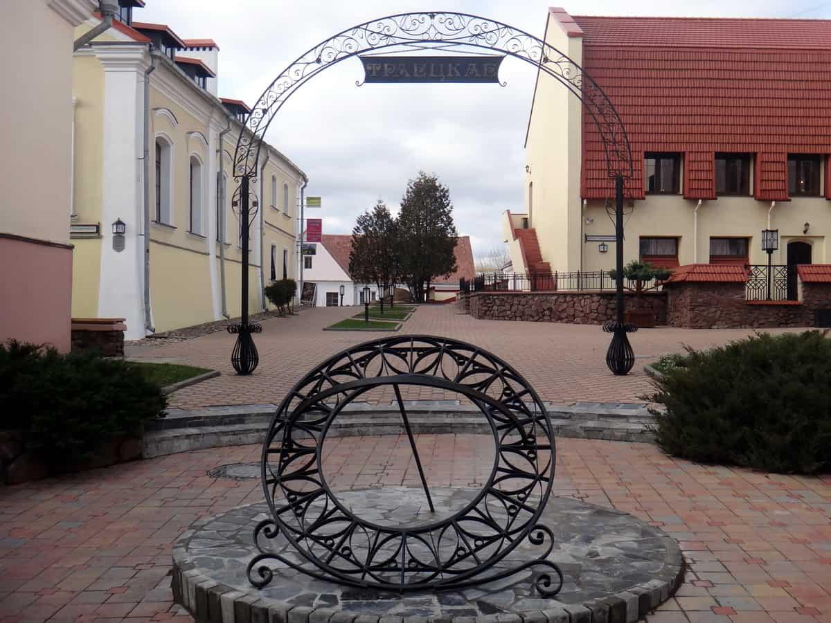 Троицкое предместье, старый город, Минск