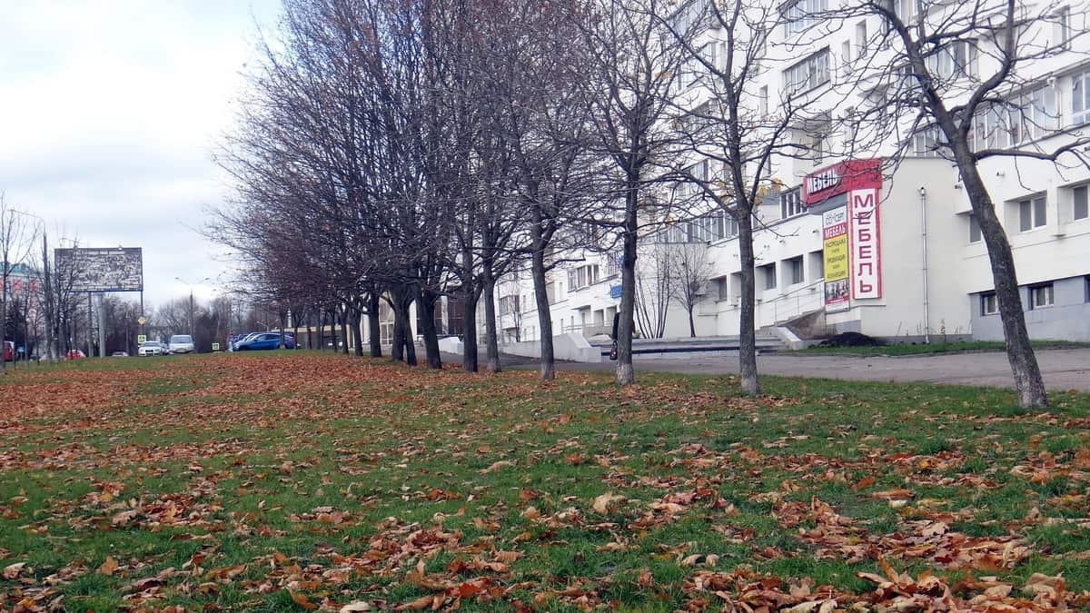 прогулка по будбварам Минска, набережная