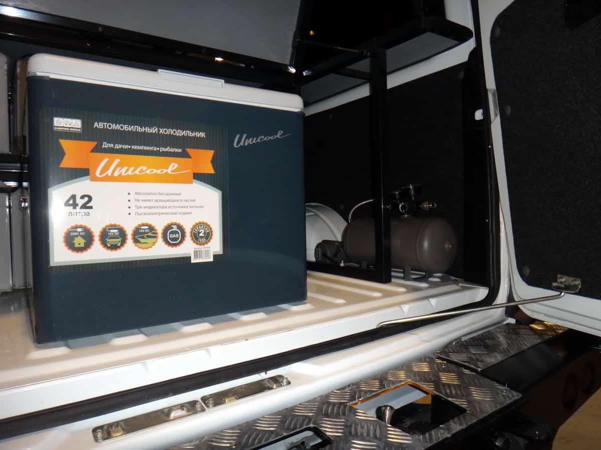 мультитопливный автомобильный холодильник