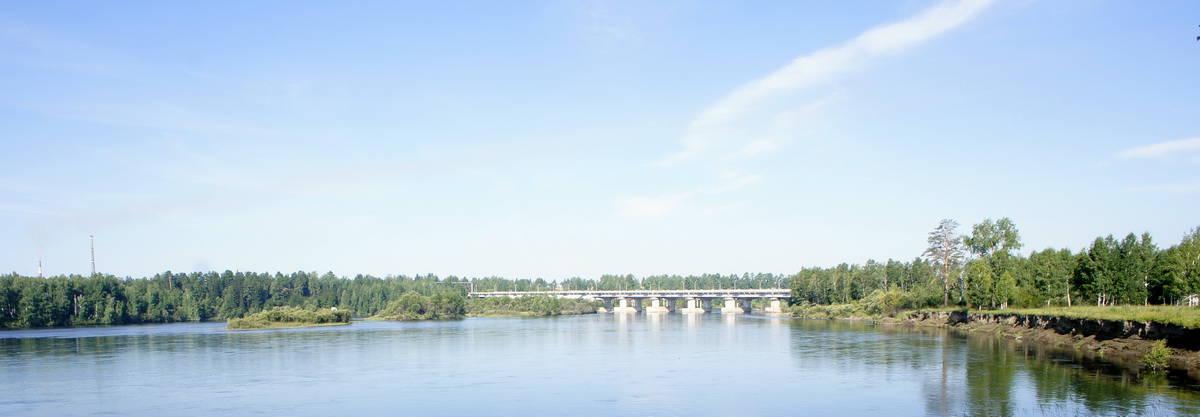 мост через Оку Новосибирск - Байкал - Монголия