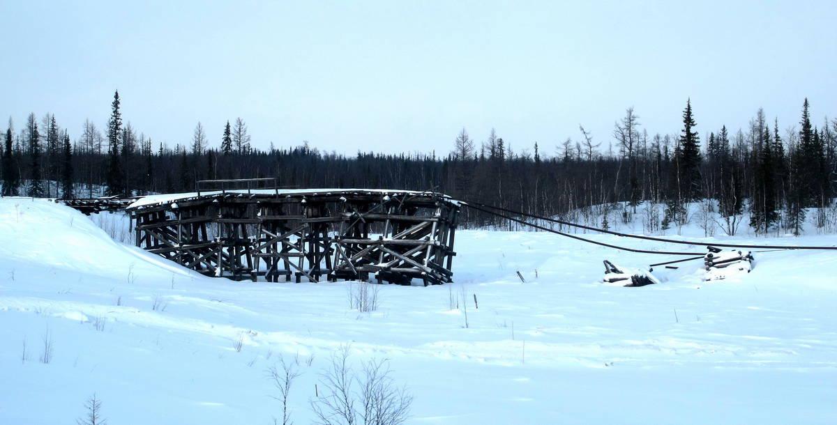 железная дорога, 501-503 Сталинская стройка, Надым - Салехард