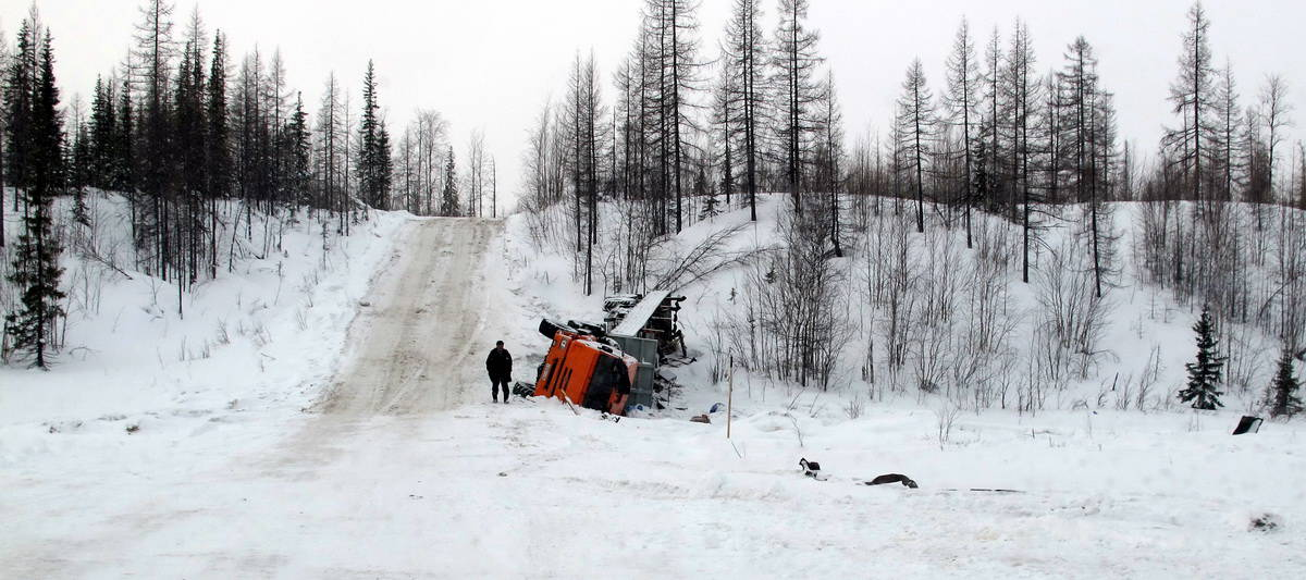 авария на зимнике