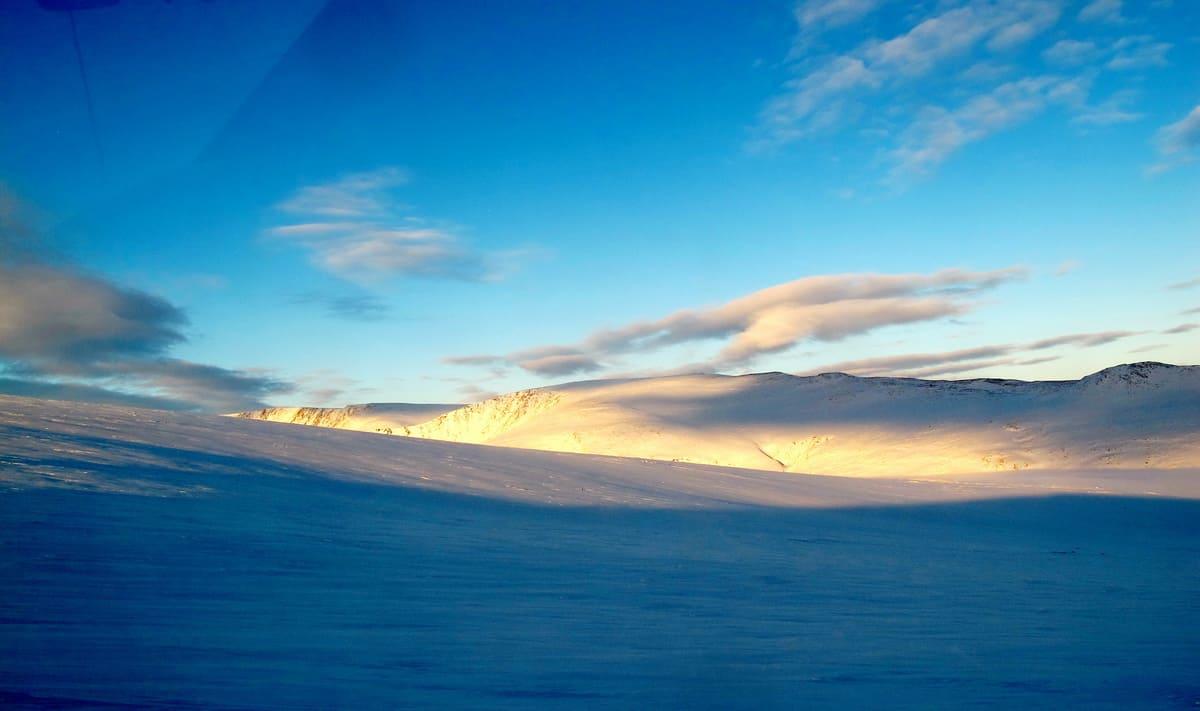 Полярный Урал зимой