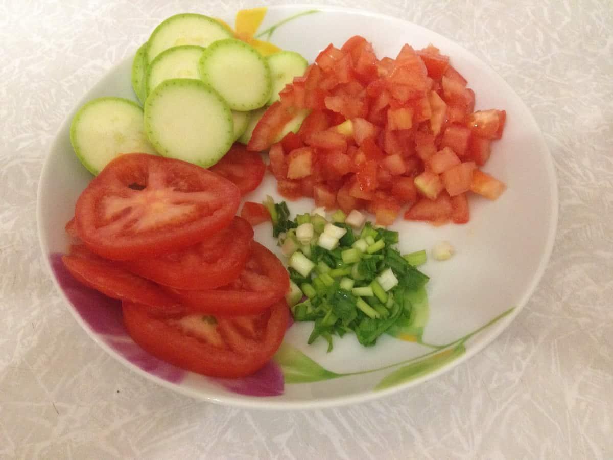 овощи для шашлыка