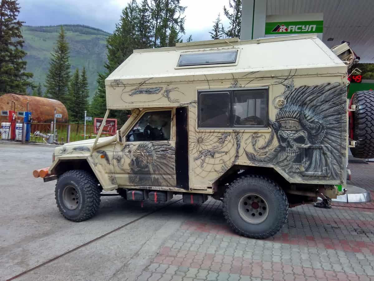 автодом - кемпер для путешествий