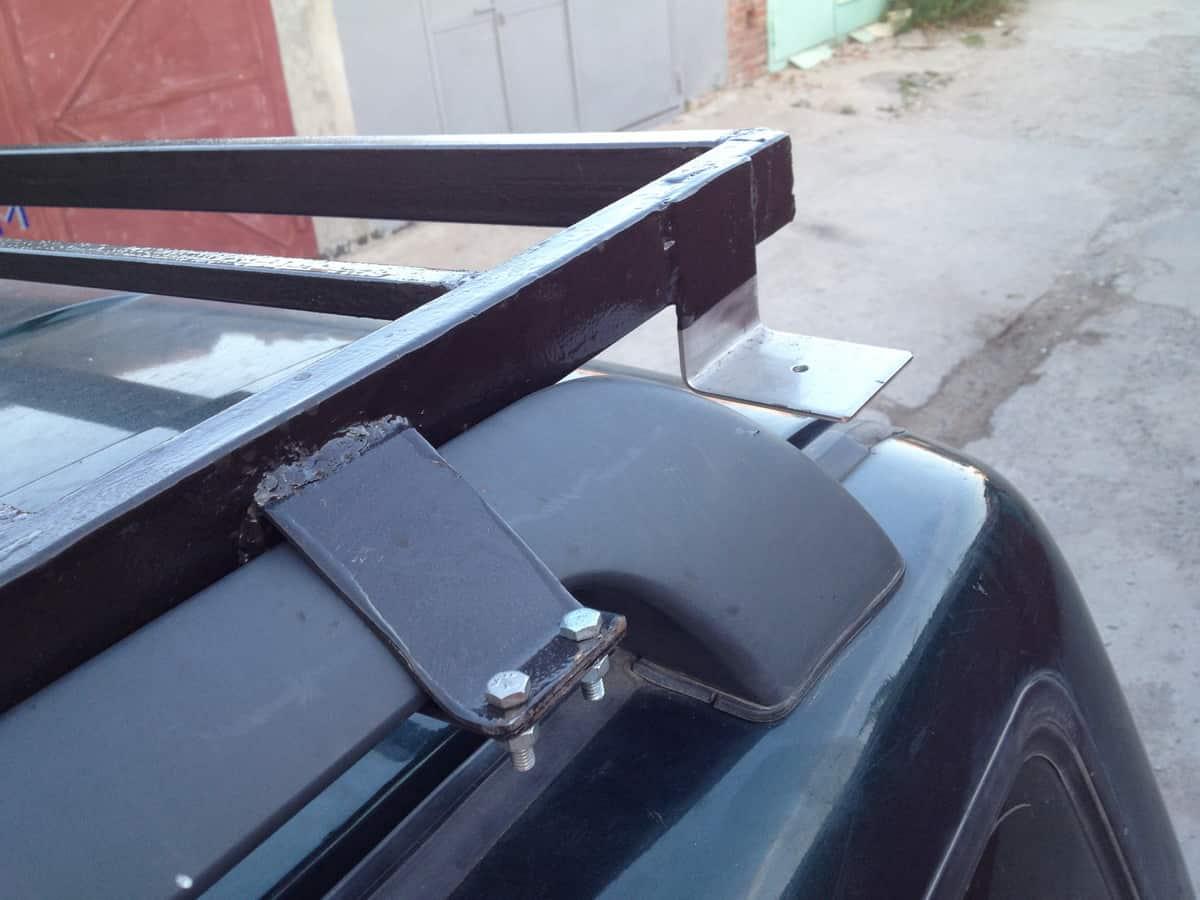 крепление для антенны на багажнике