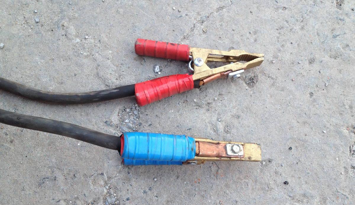 провода для прикуривания своими руками