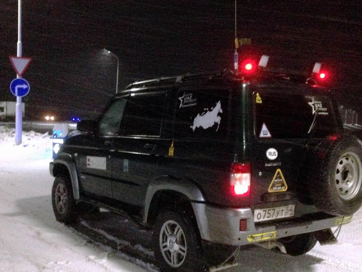 погода на трассе Омск - Новосибирск