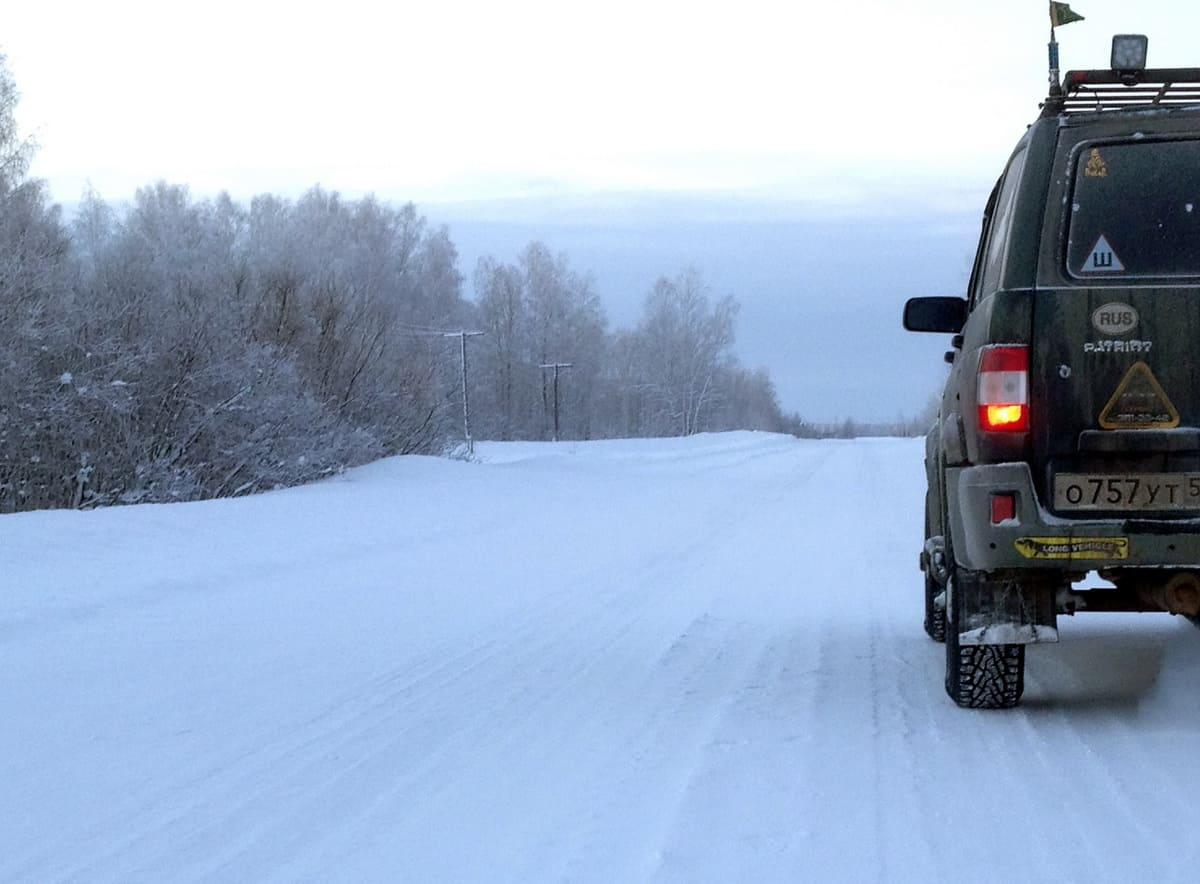 УАЗ Патриот зимнее фото