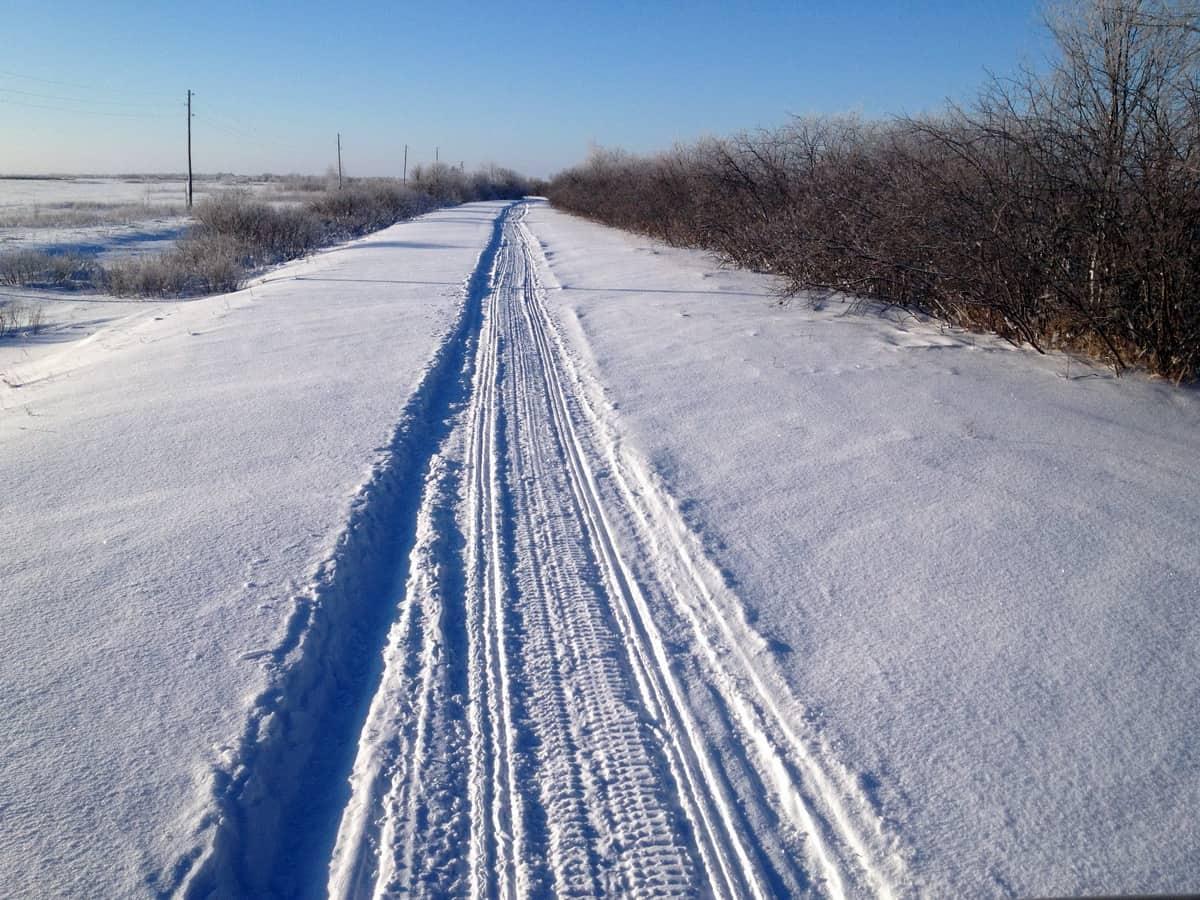 снегоходный след, буранец