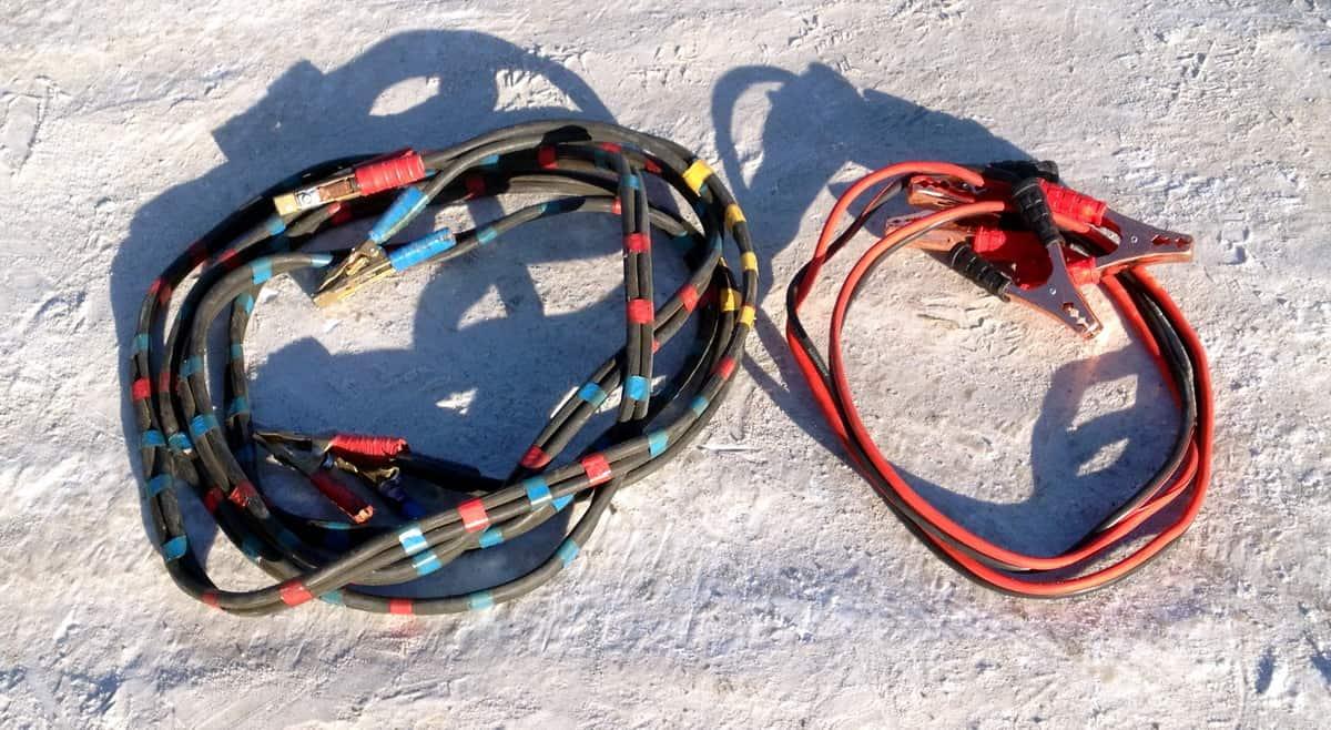 провода для прикуривания из сварочного кабеля