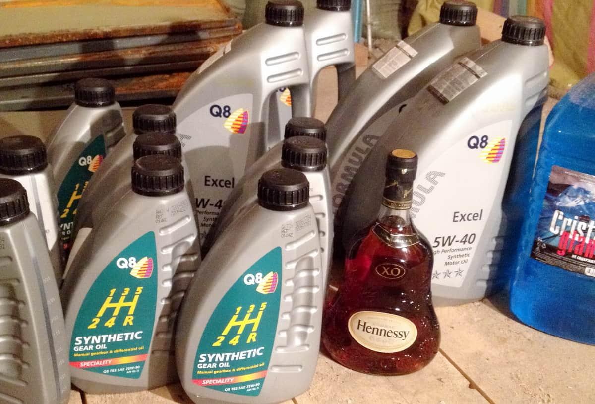 масло q8 для севера