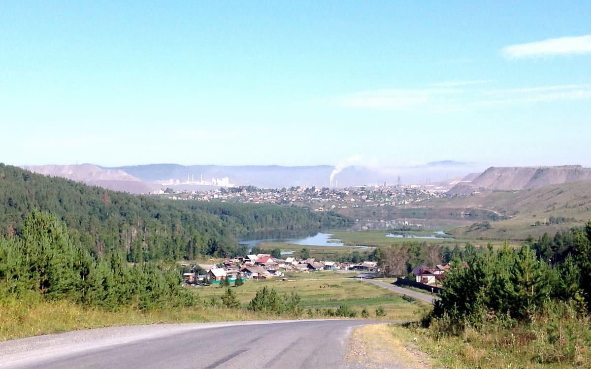 панорама Сатки