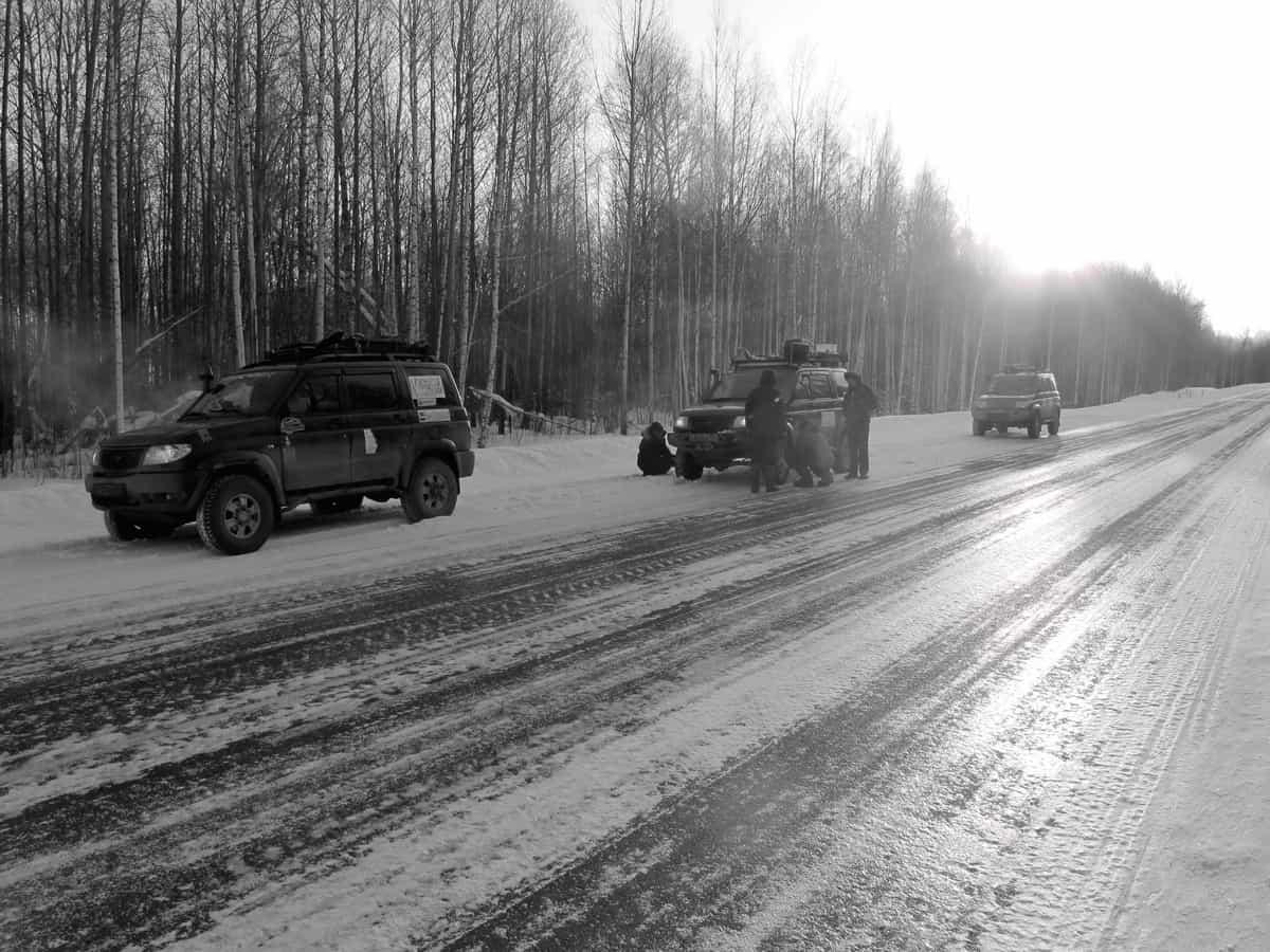 поломка переднего моста на первом УАЗ Патриот