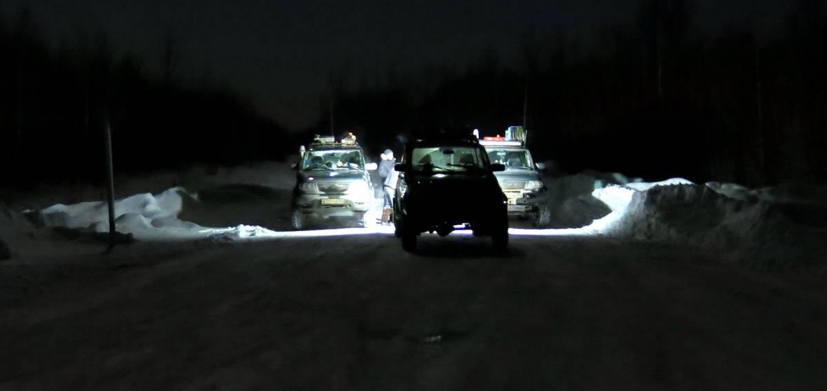 ночевка на трассе под Томском