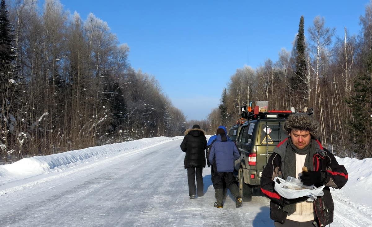 путешественник Алексей Бычков