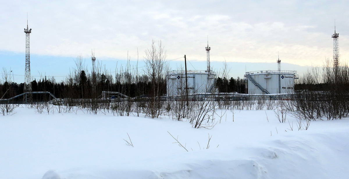 Томск, нефтяное месторождение