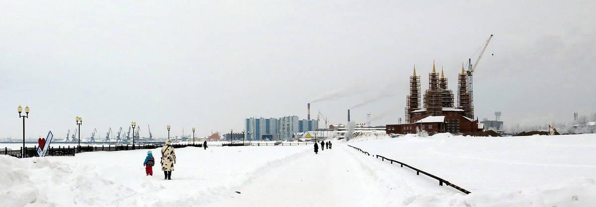 Нижневартовск, панорама города