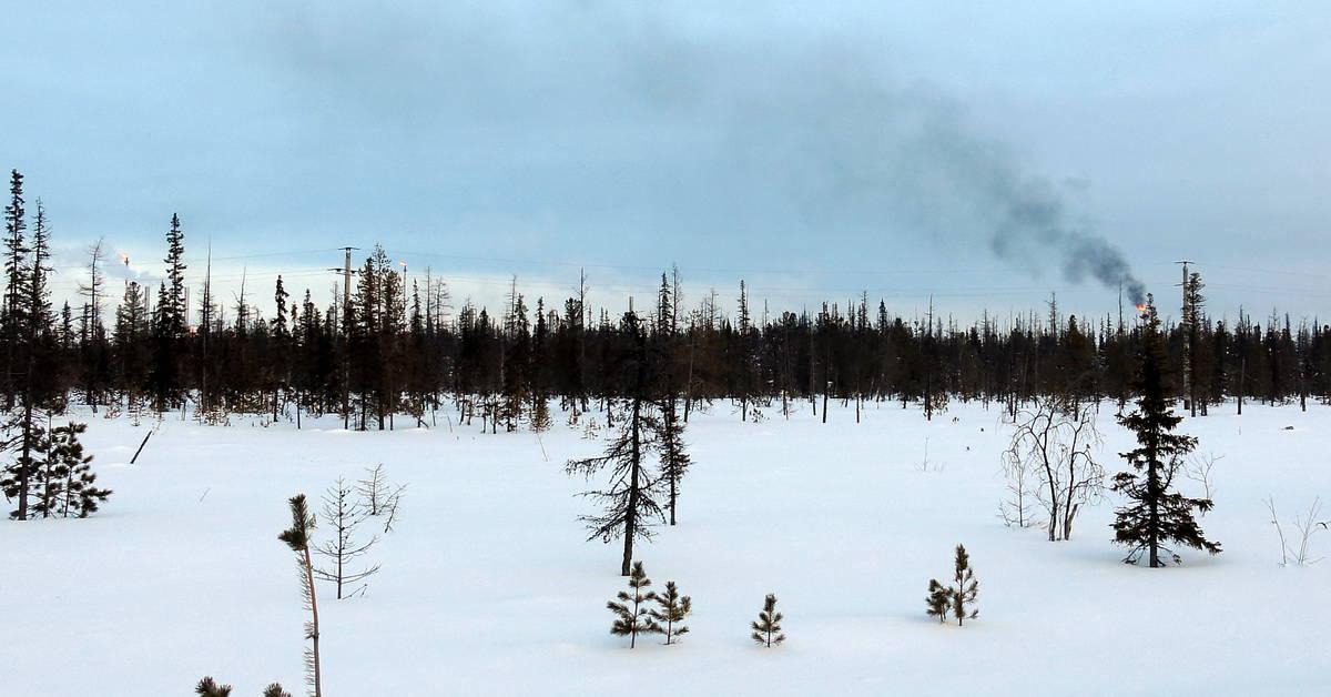 сжигание попутного газа на месторождениях