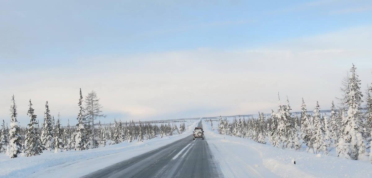 Дорога до Салехарда