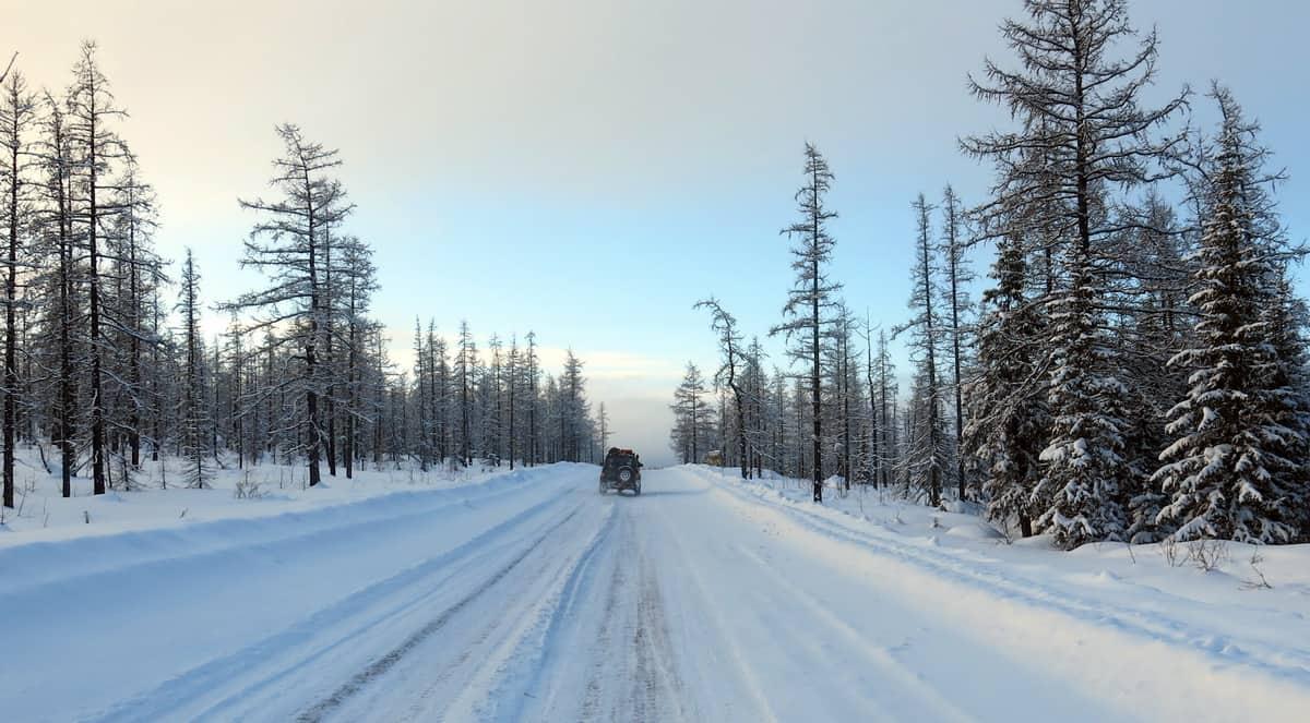 дорога на Полярный Урал