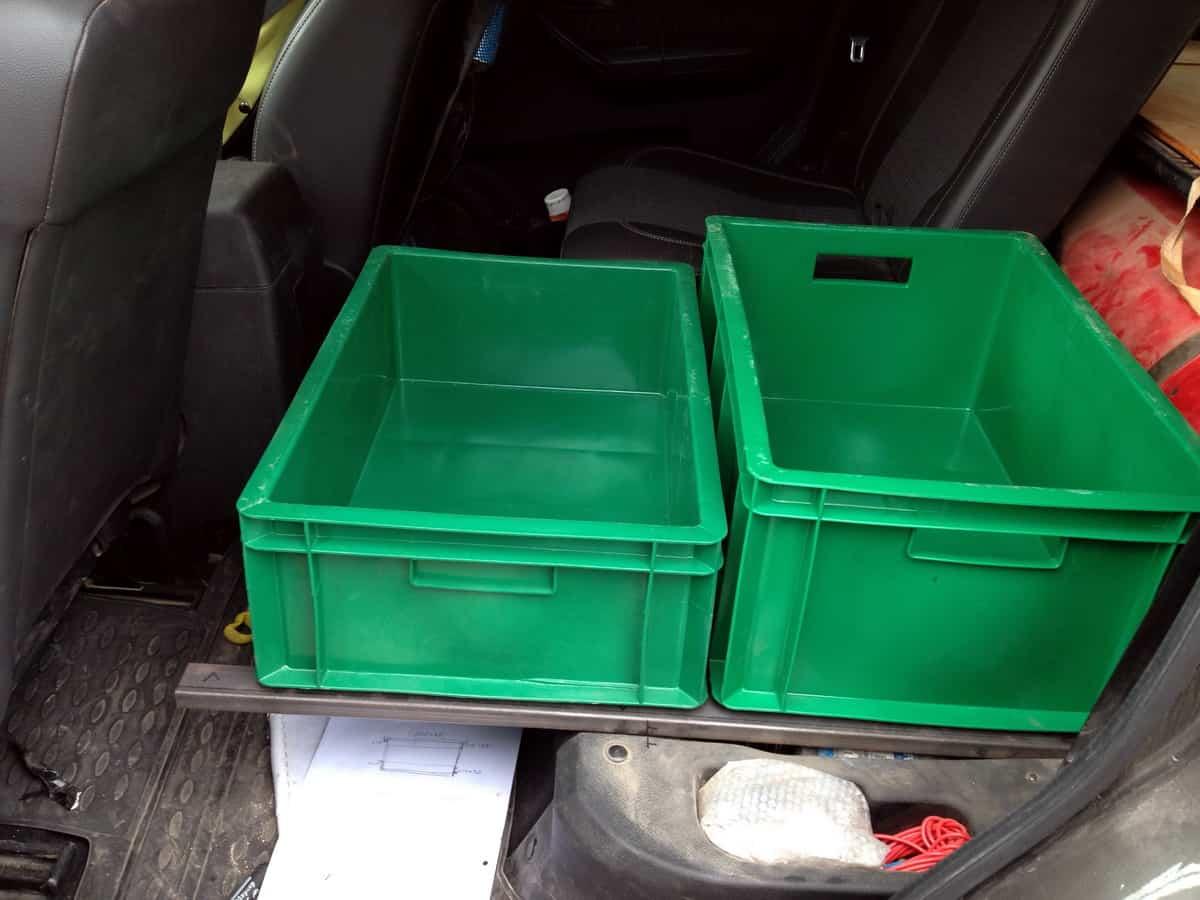 ящики пласт-тара