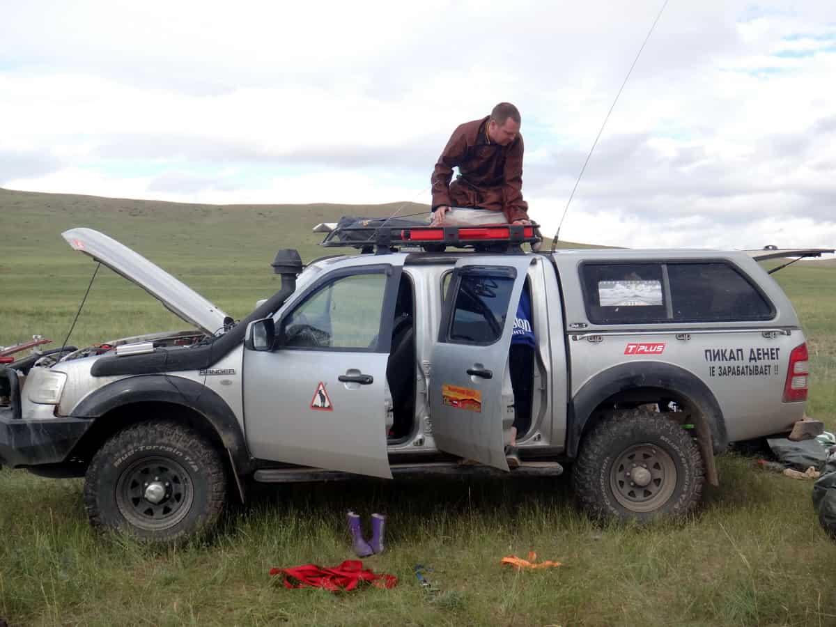 укладка ford ranger