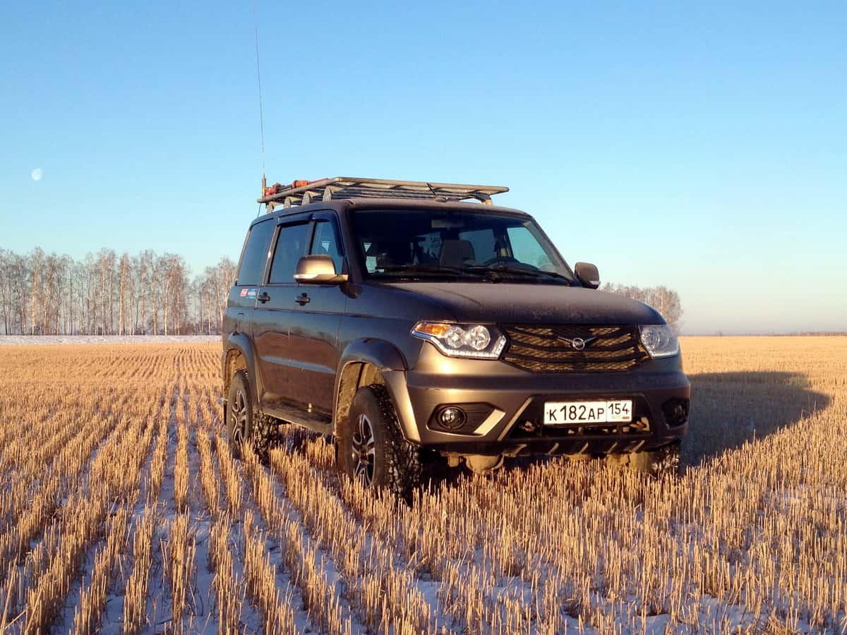 УАЗ Патриот с экспедиционной платформой