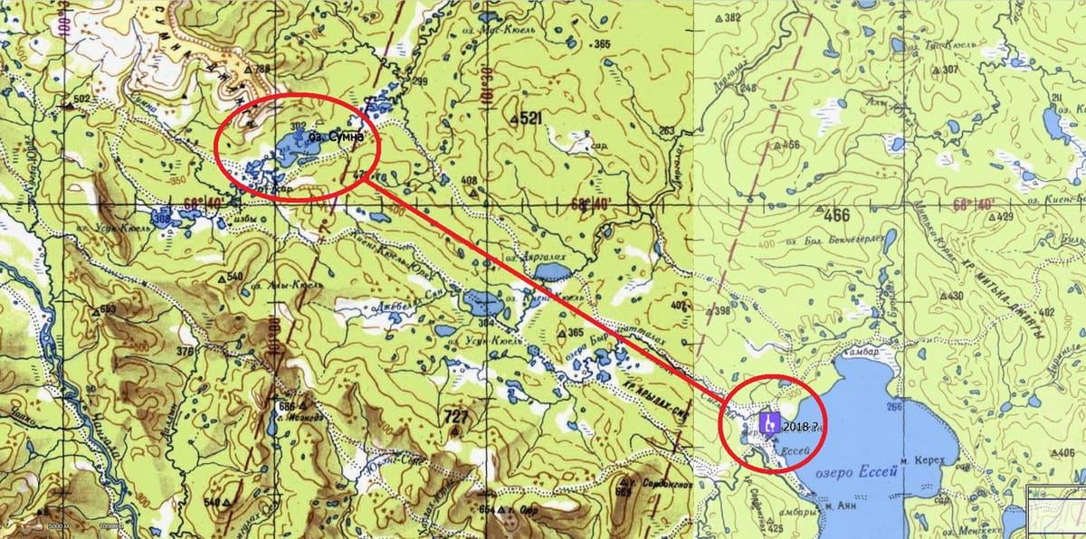 Ессей - плато Путорана