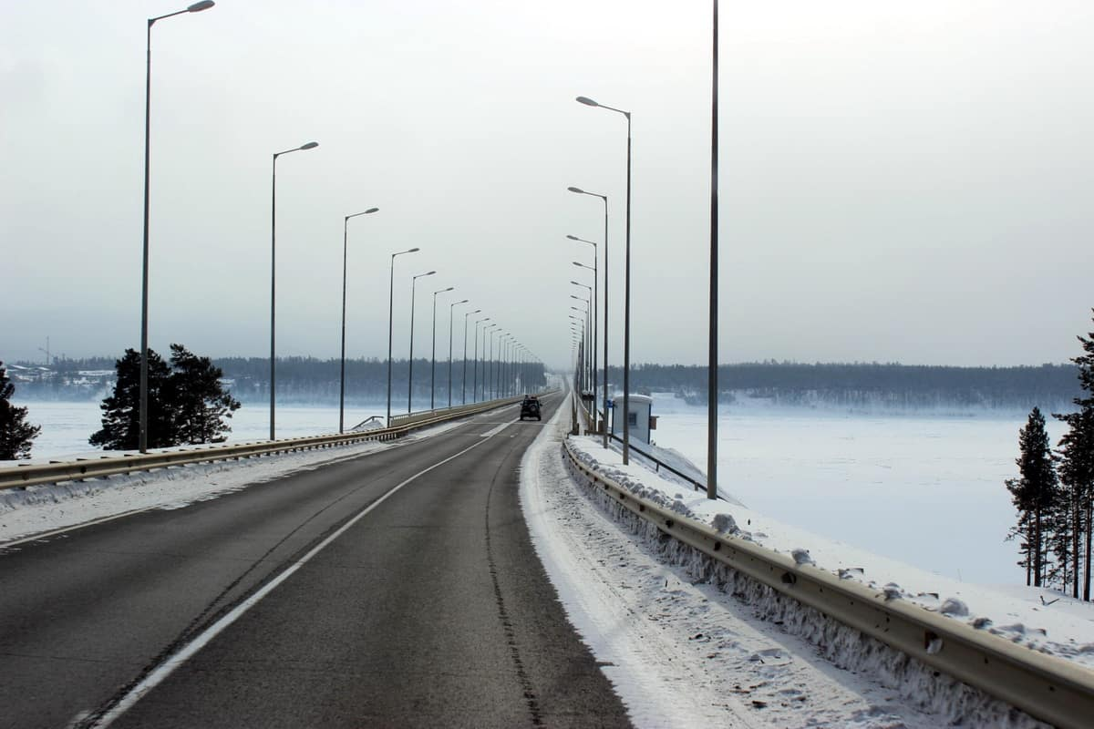 мост через Ангару