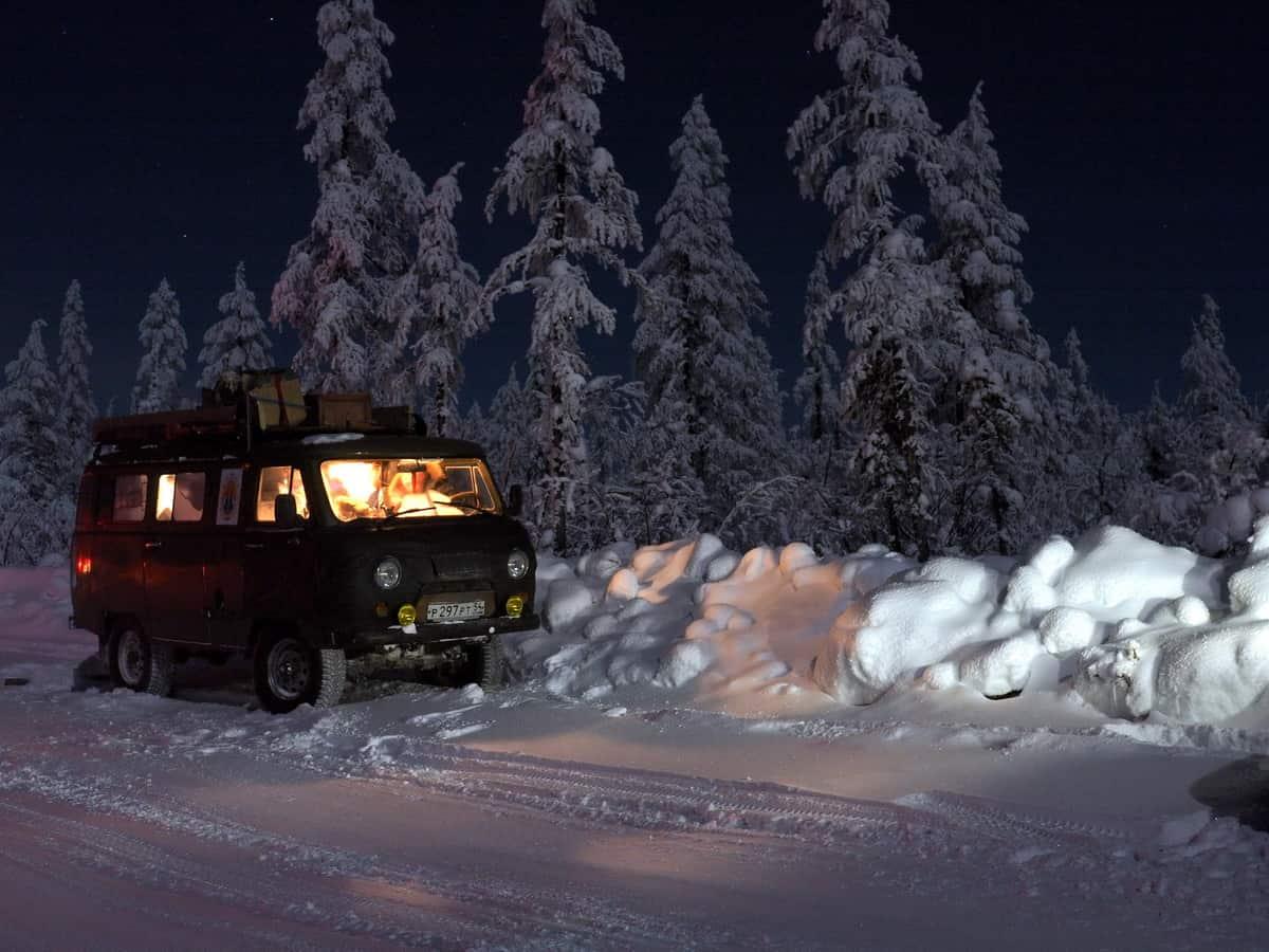 ночевка на зимнике