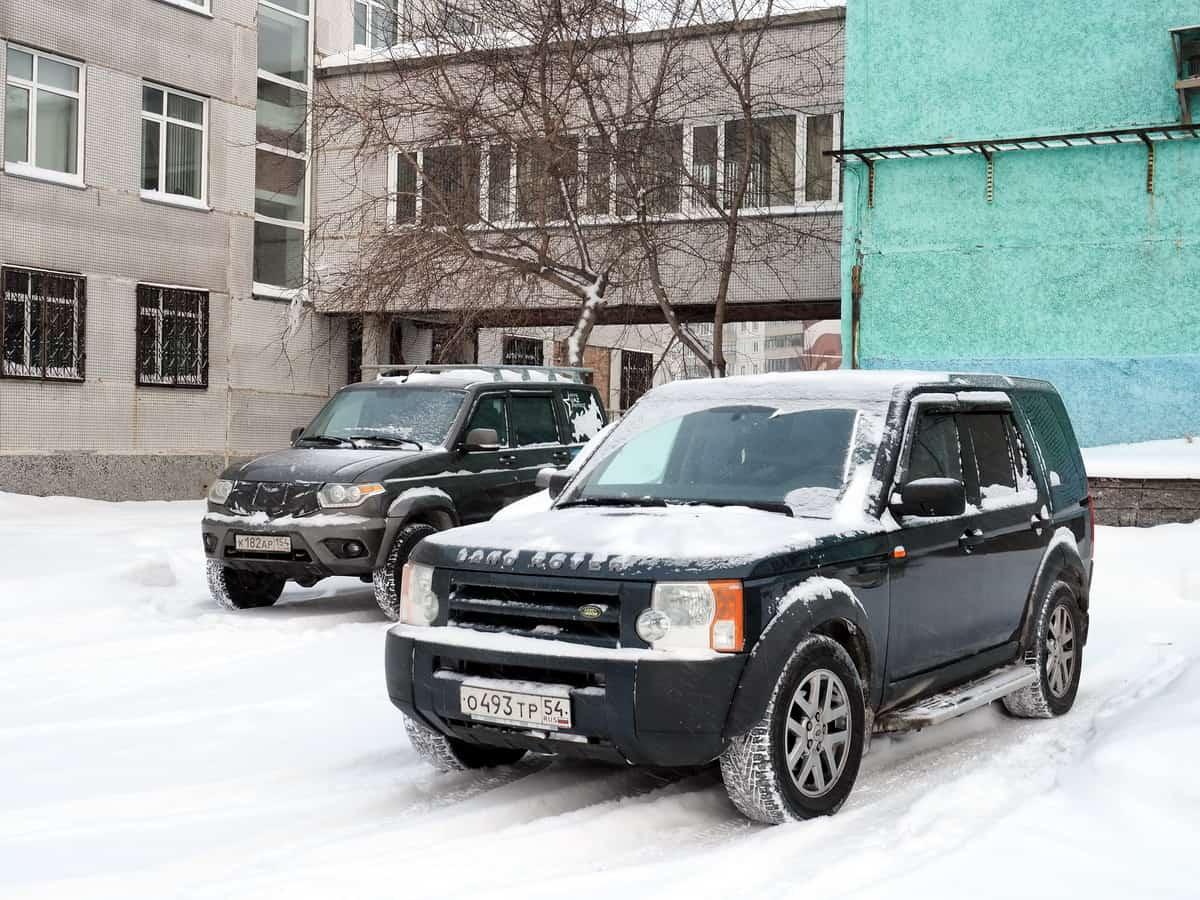 УАЗ Патриот и Land Rover
