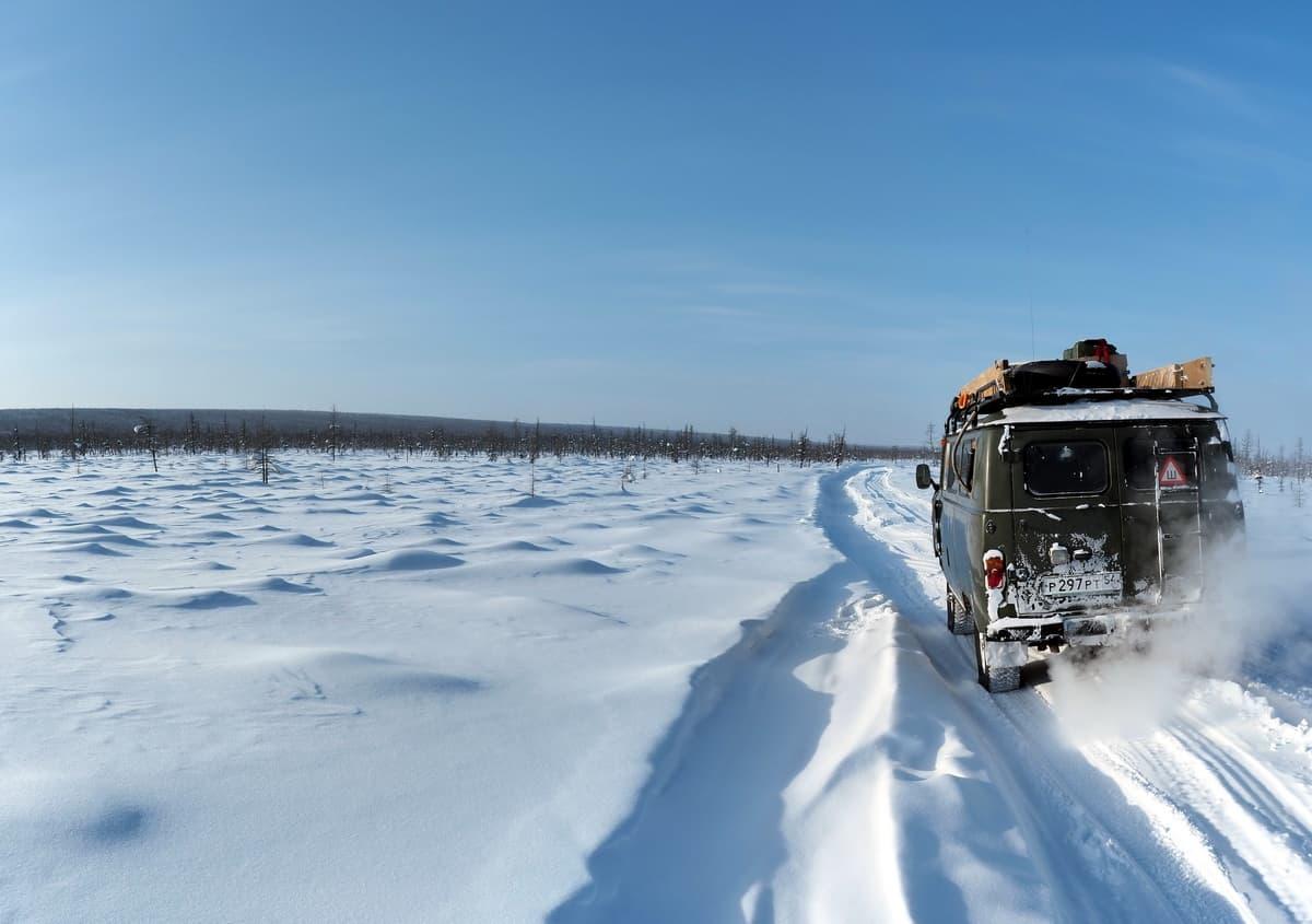 УАЗ 452 в Эвенкии