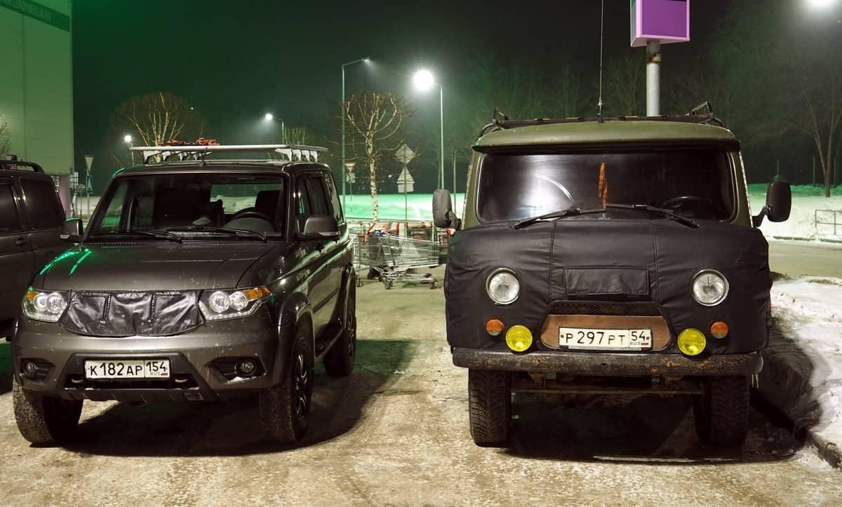 УАЗ Буханка и УАЗ Патриот