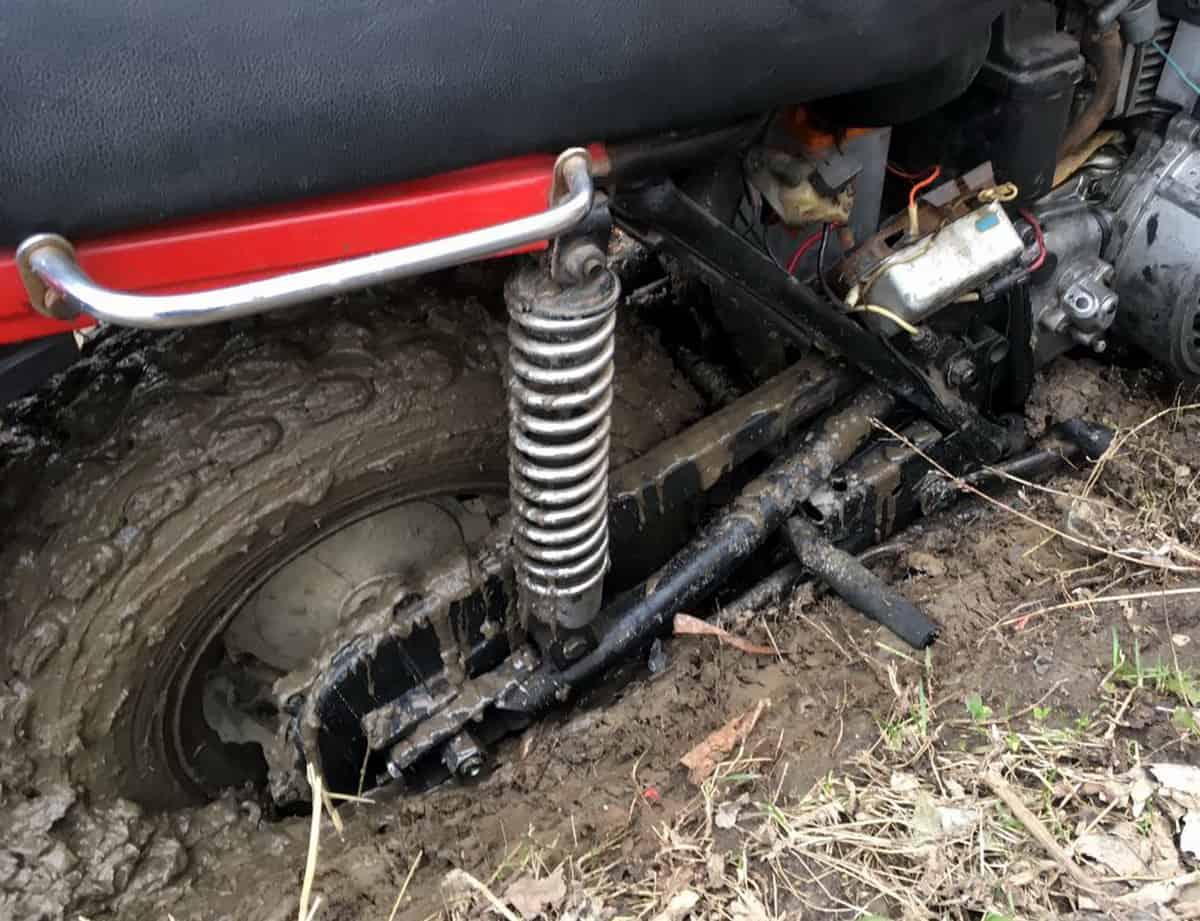тест резины Kenda Klaw в грязи