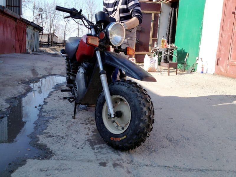 внедорожный мотоцикл тула тмз проект