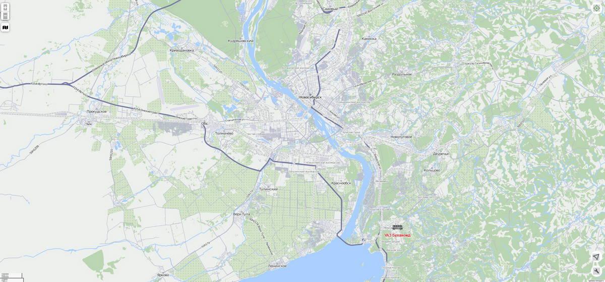 GPS-отслеживание транспортных средств