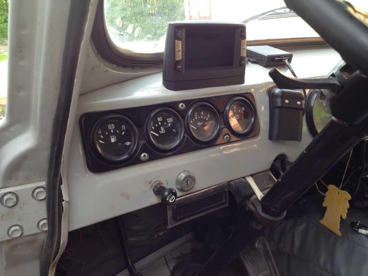 бортовой компьютер Multitronics C-900 в уаз 452