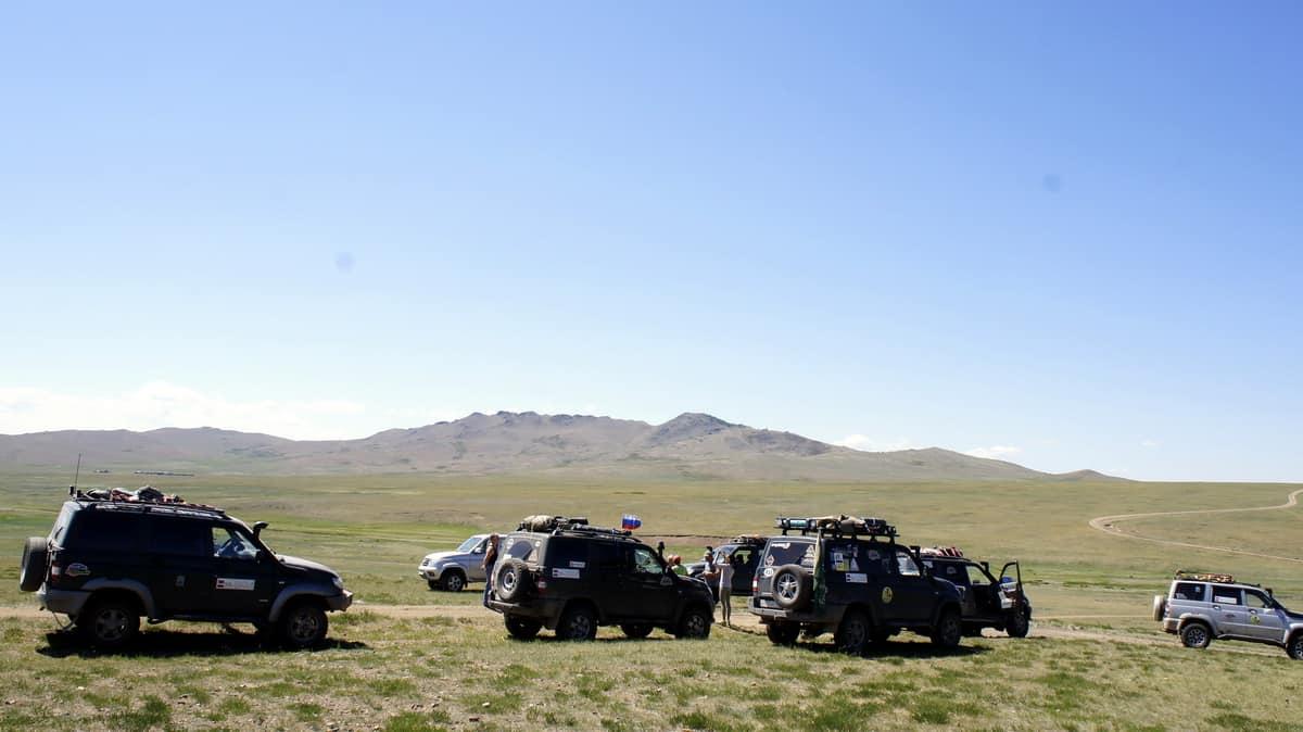 встреча в Монголии с коллективом Ваксой-сервис
